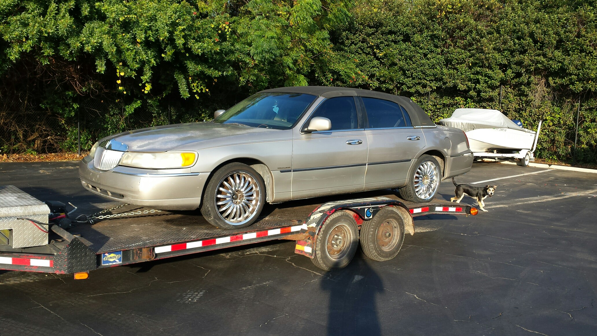 Lincoln Town Car (Recently Purchased by Junk Cars Orlando, LLC)
