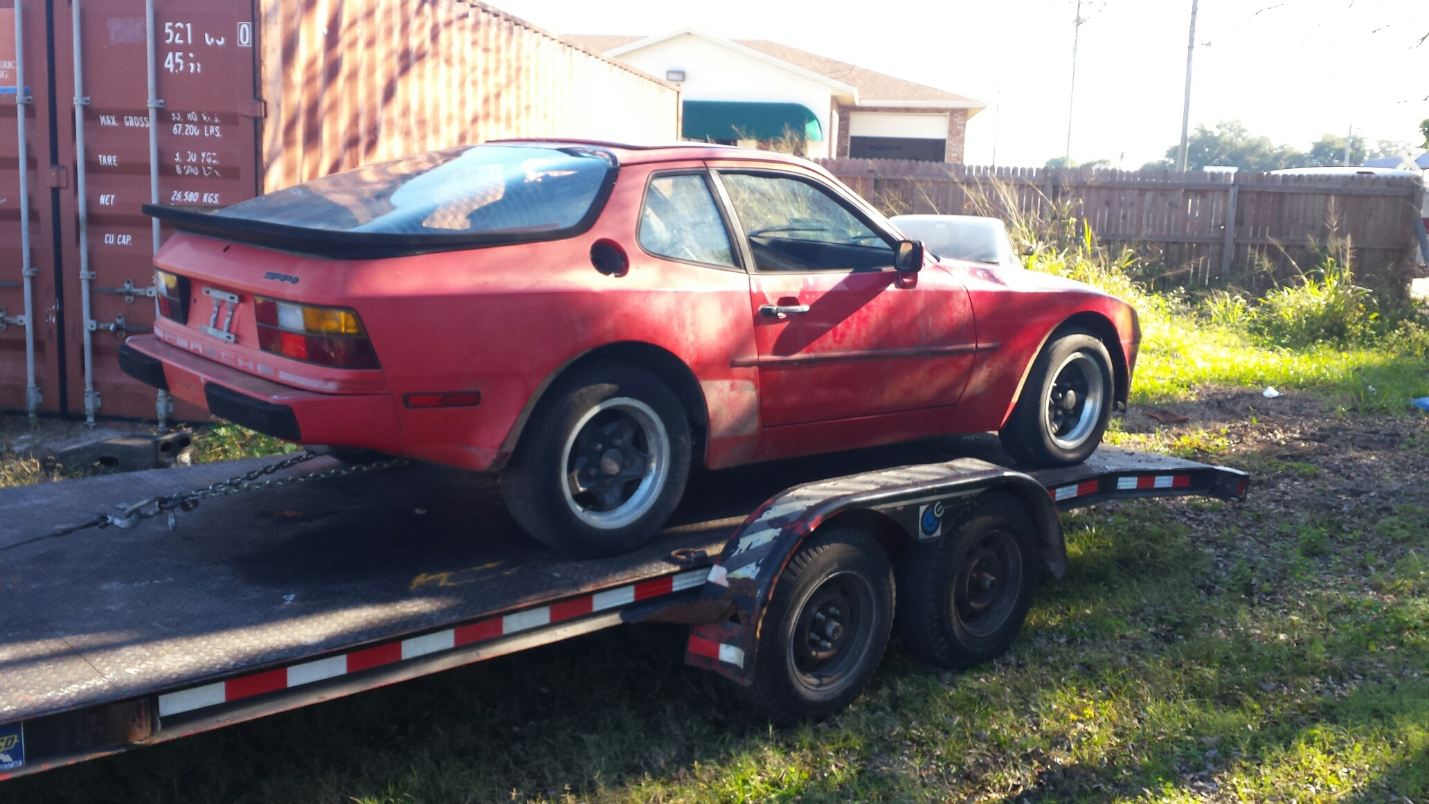 Porsche 944 (Recently Purchased by Junk Cars Orlando, LLC)