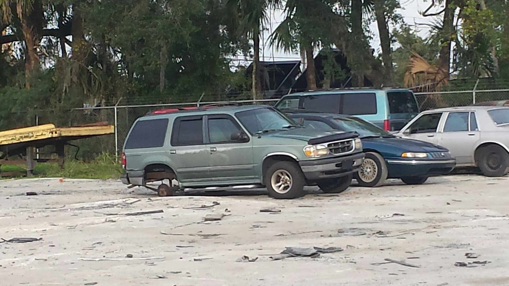 Ford Explorer (Recently Purchased by Junk Cars Orlando, LLC)
