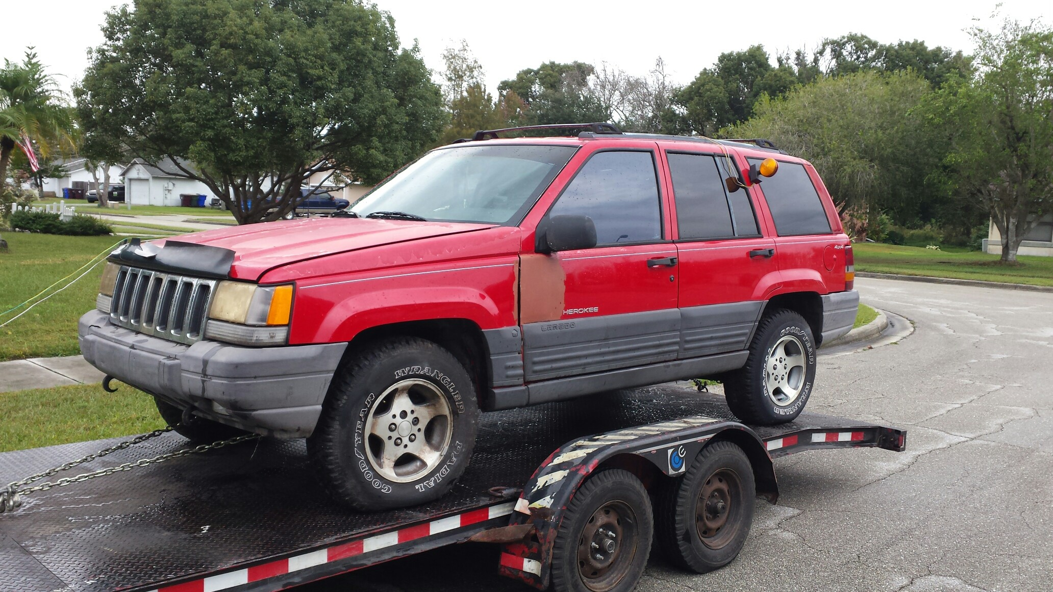 Junk Jeep Cherokee - Purchased in Orlando, FL